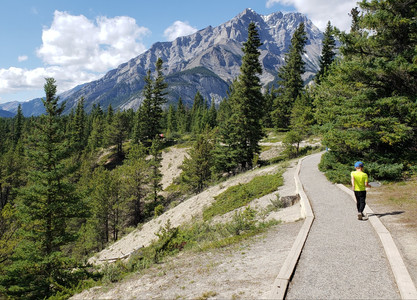 Hiking and camping in Banff, Alberta with kids
