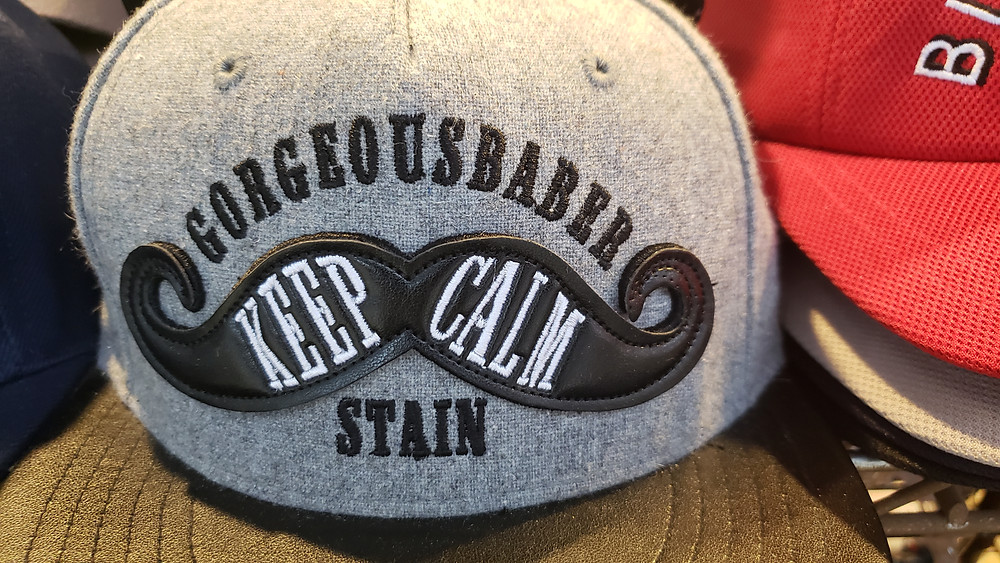 Gorgeousbaber Stain. Keep Calm. Weird Hat, SOuth Korea.