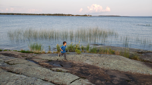 Camping with kids in Beausoleil Island, Ontario