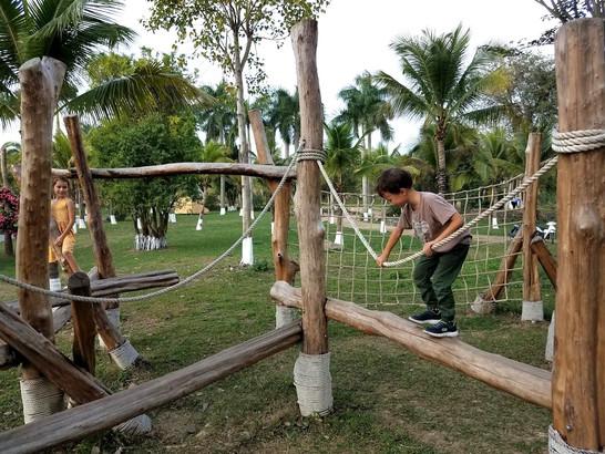 Best playground in Hanoi is Ecopark.