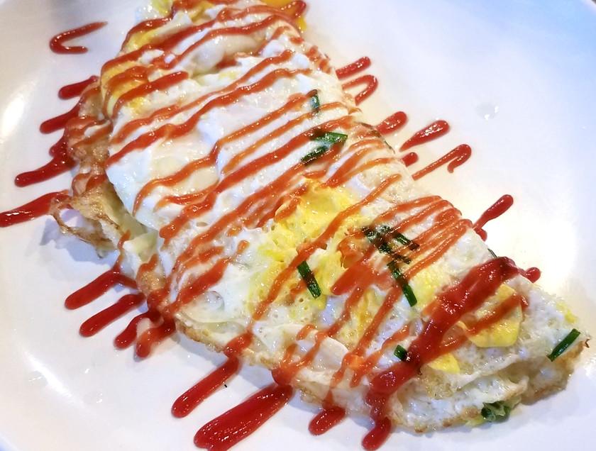 Omelet with Makgeolli, Jeonju