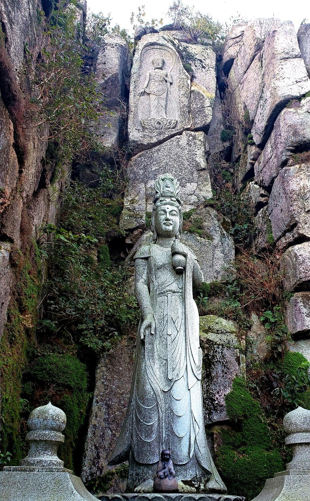 Buddha carvings, Geumjeongsanseong