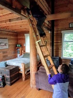 Rustic cabin retreat in B.C. with kids