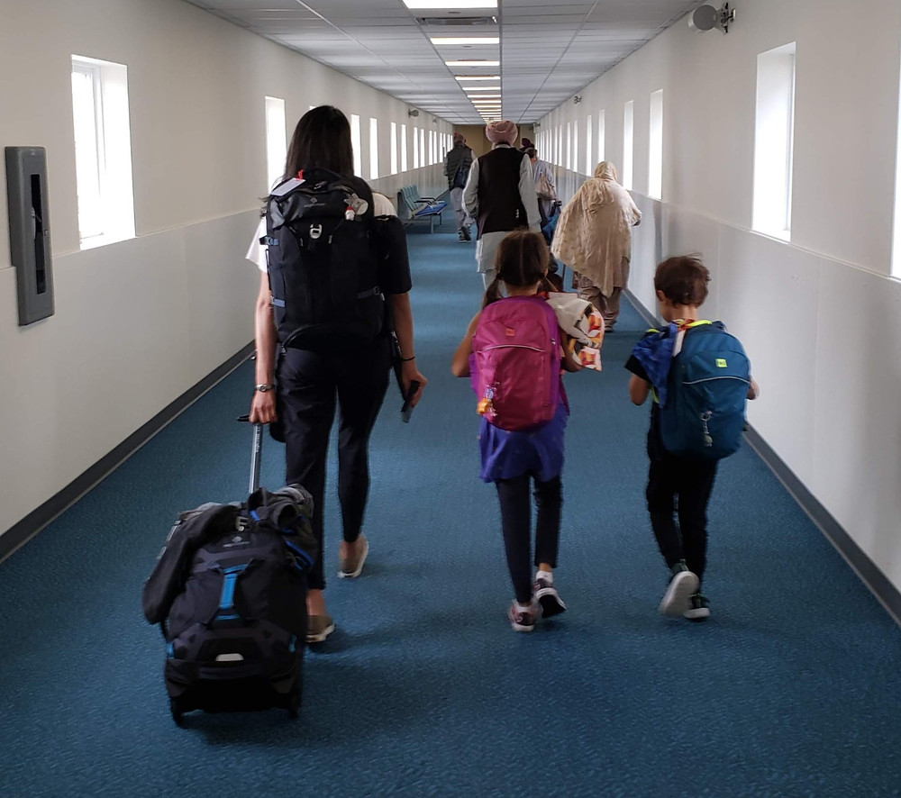 Traveling long-term  with carry-ons with kids