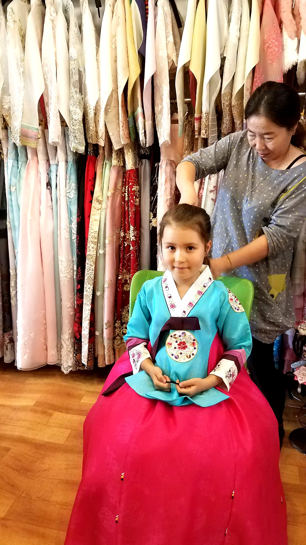 Pretty Korean Hanbok