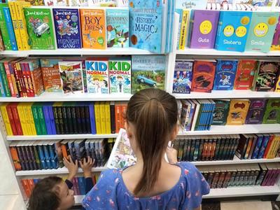 Bookstore at Aeon Mall, Hanoi, Vietnam