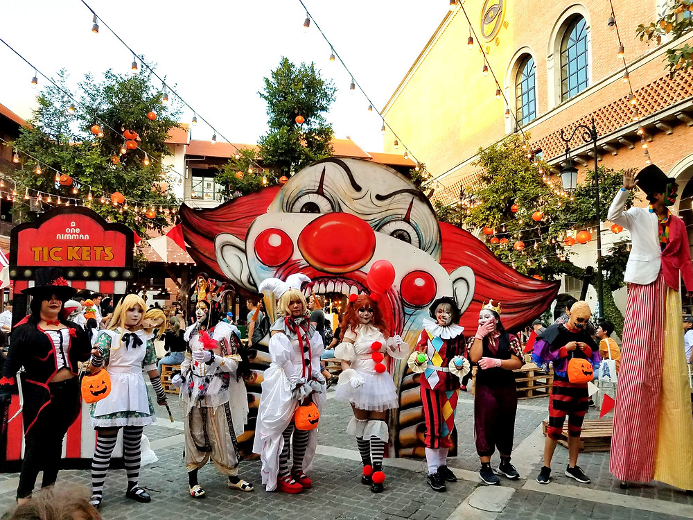Halloween in Chiang Mai, Thailand, One Nimman
