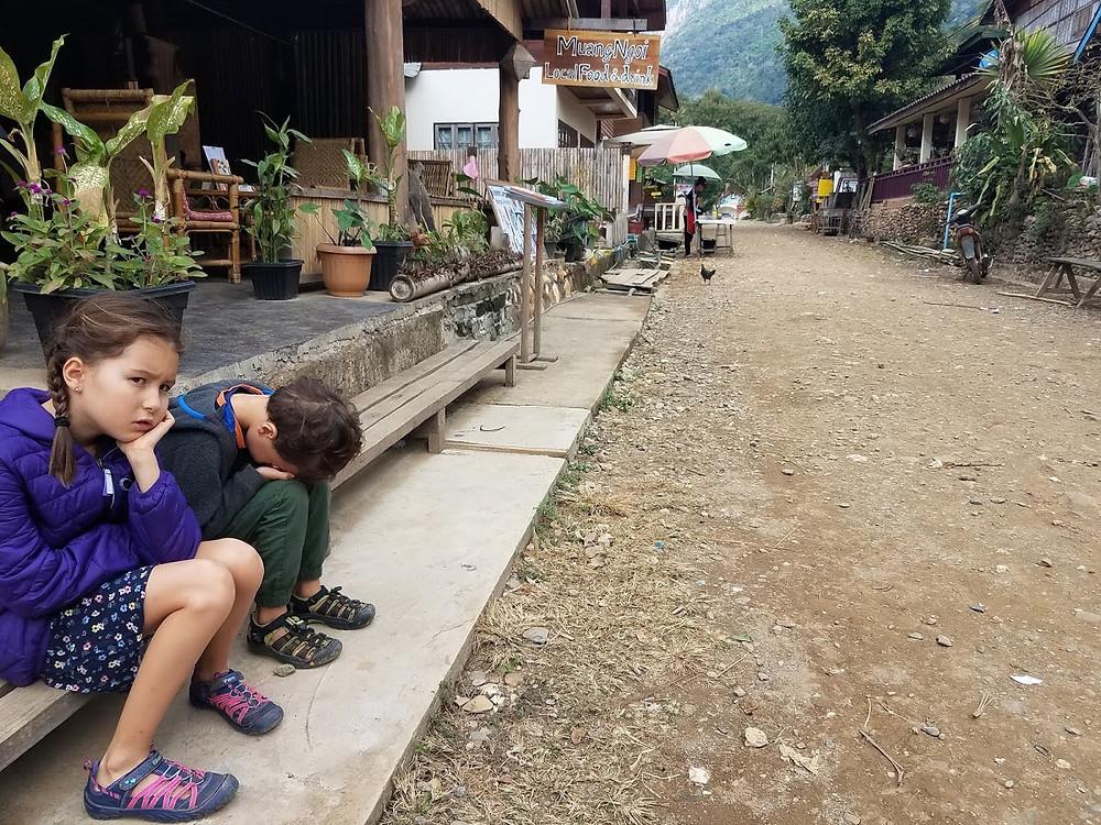 Kids in Muang Ngoi