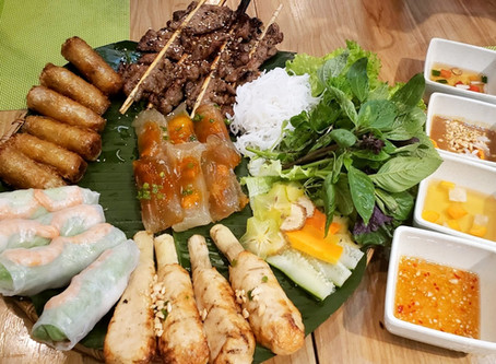 Eating in VIETNAM with KIDS