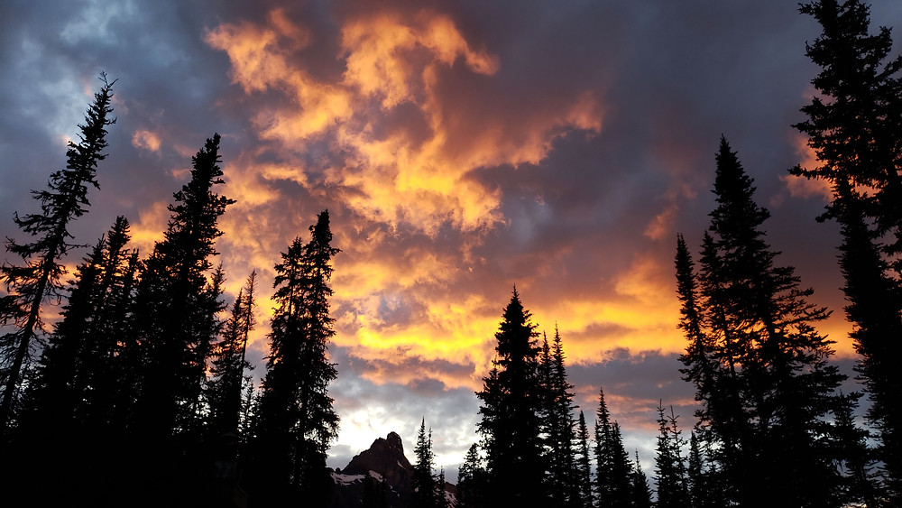 Sunset at Yoho National Park, B.C.