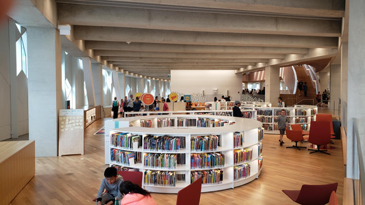 Calgary Library, children's section