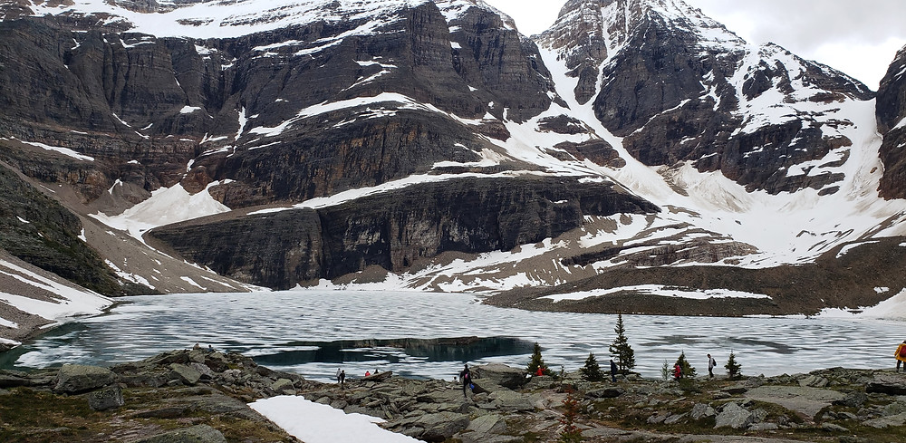 Lake Oesa, Yoho National Park, hiking with kids