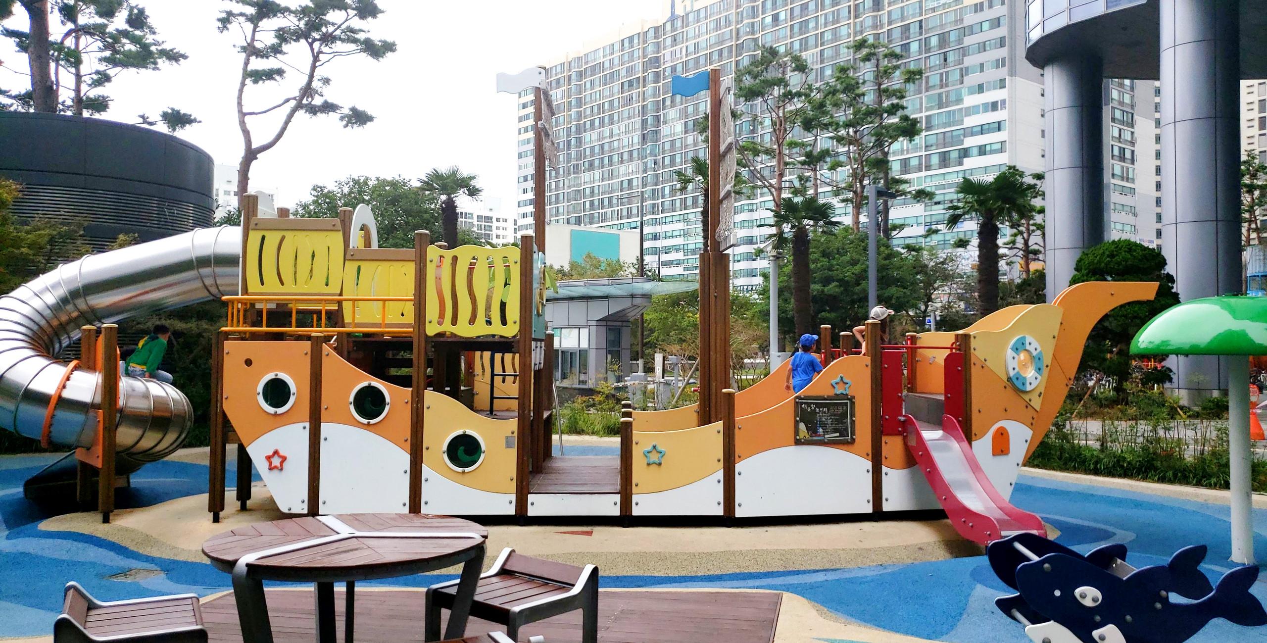Playground near Haeundae