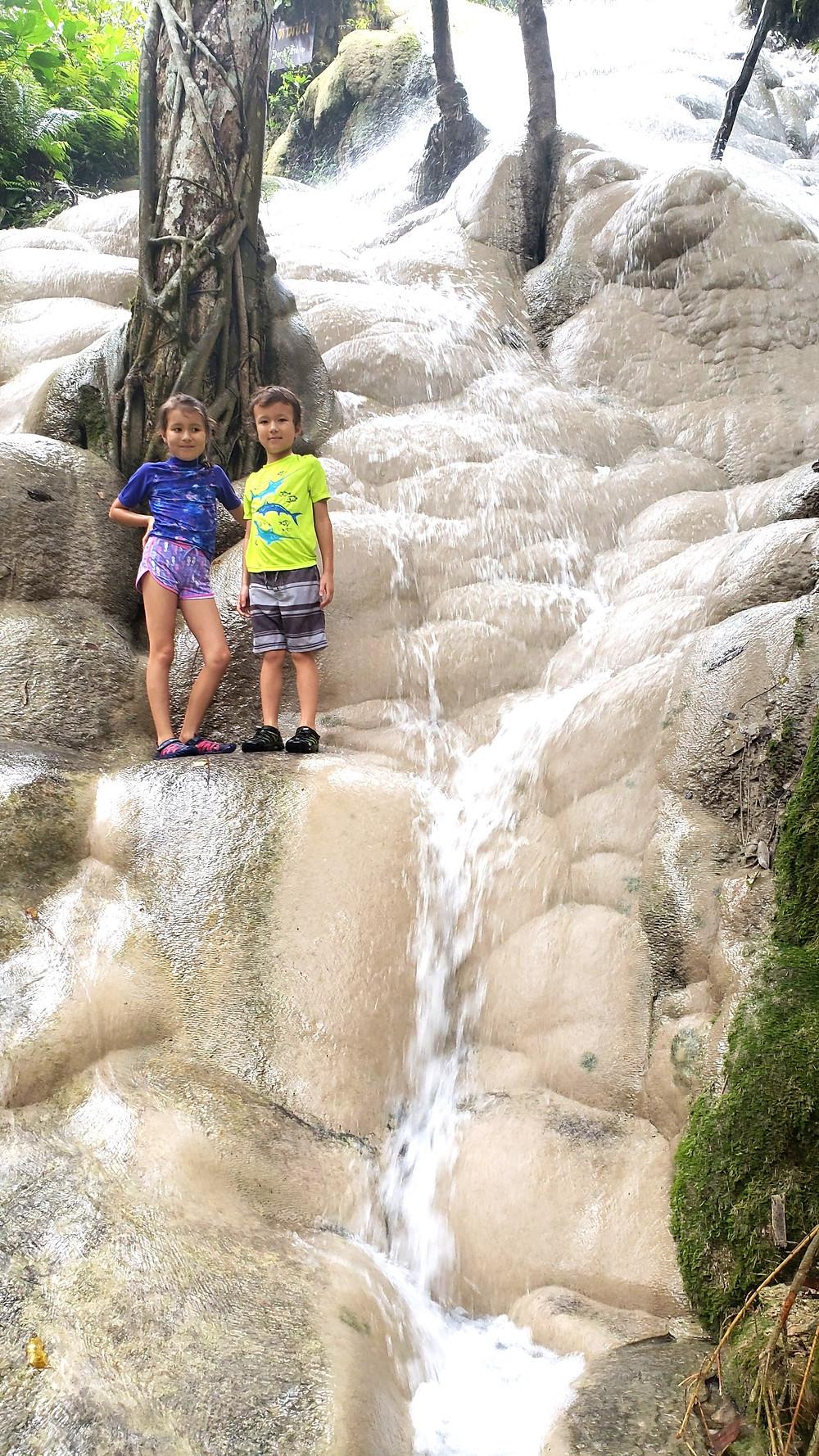 Sticky Waterfalls (BUA TONG)  in Chiang Mai