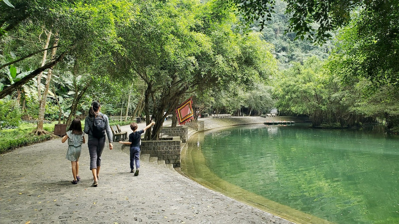 Stop for a walk on our Trang An boat tour, Ninh Binh