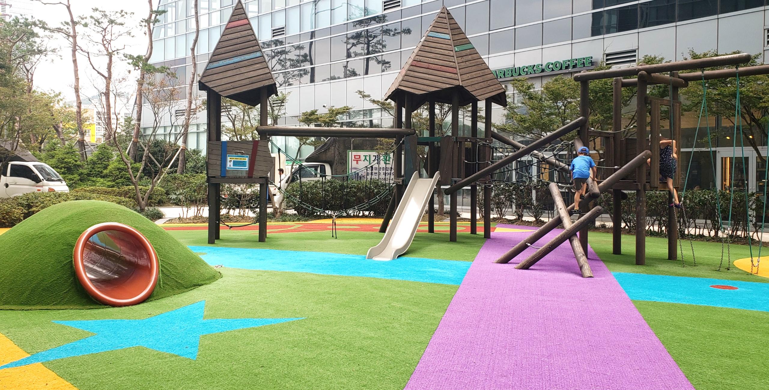 Wonderful korean playgrounds