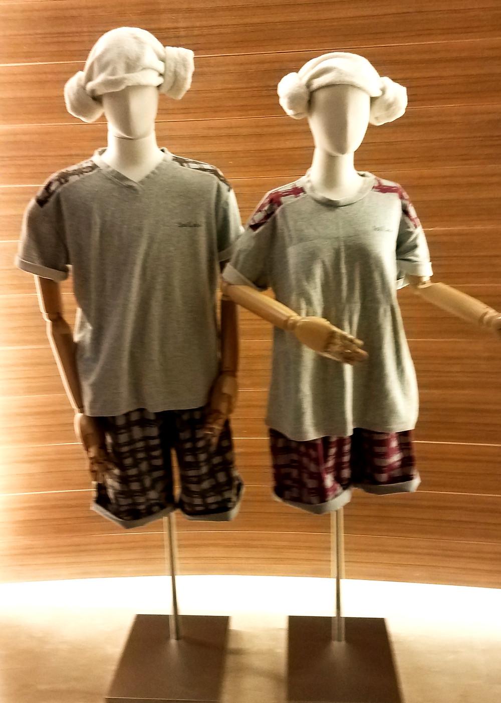 Spa Land towel headwear and uniform