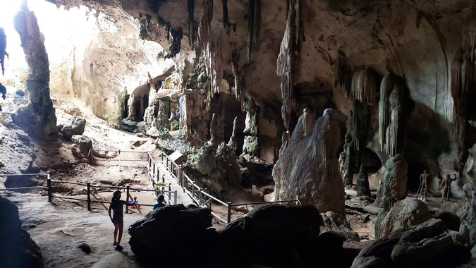 Khao Khanap Cave, Krabi, Thailand