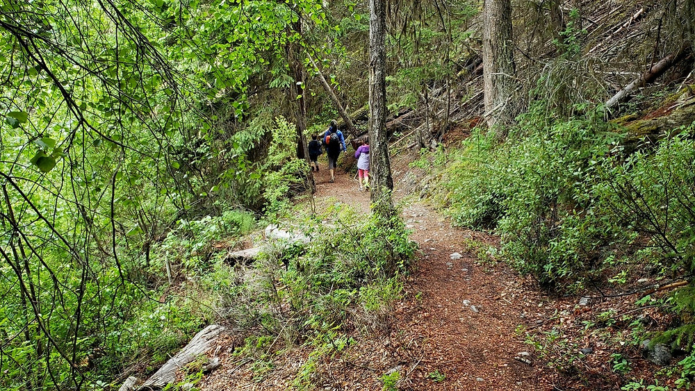 Hiking in Kentucky - Alleyne Provincial park, B.C.