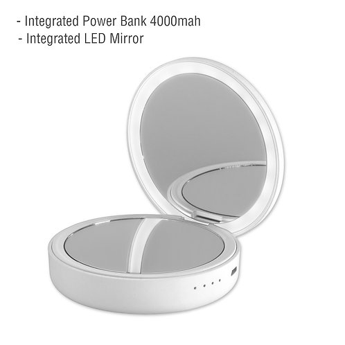 4smarts Powerbank PocketMirror 4000mAh