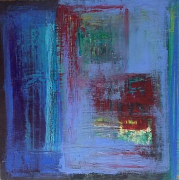 Mishmash Acrylic on Canvas Size: 30 x 30cm