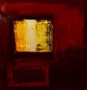 On the Level Acrylic on Canvas Size: 30 x 30cm