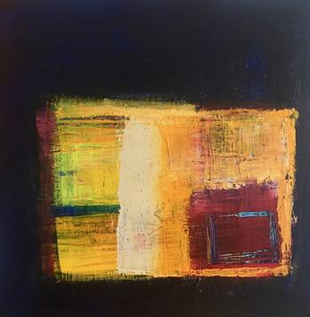 Groove Acrylic on Canvas Size: 30 x 30cm