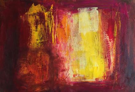 Brilliant Mistake Acrylic on Canvas Size: 42 x 60cm