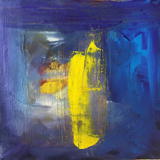 Storm Acrylic on Canvas Size: 30 x 30cm