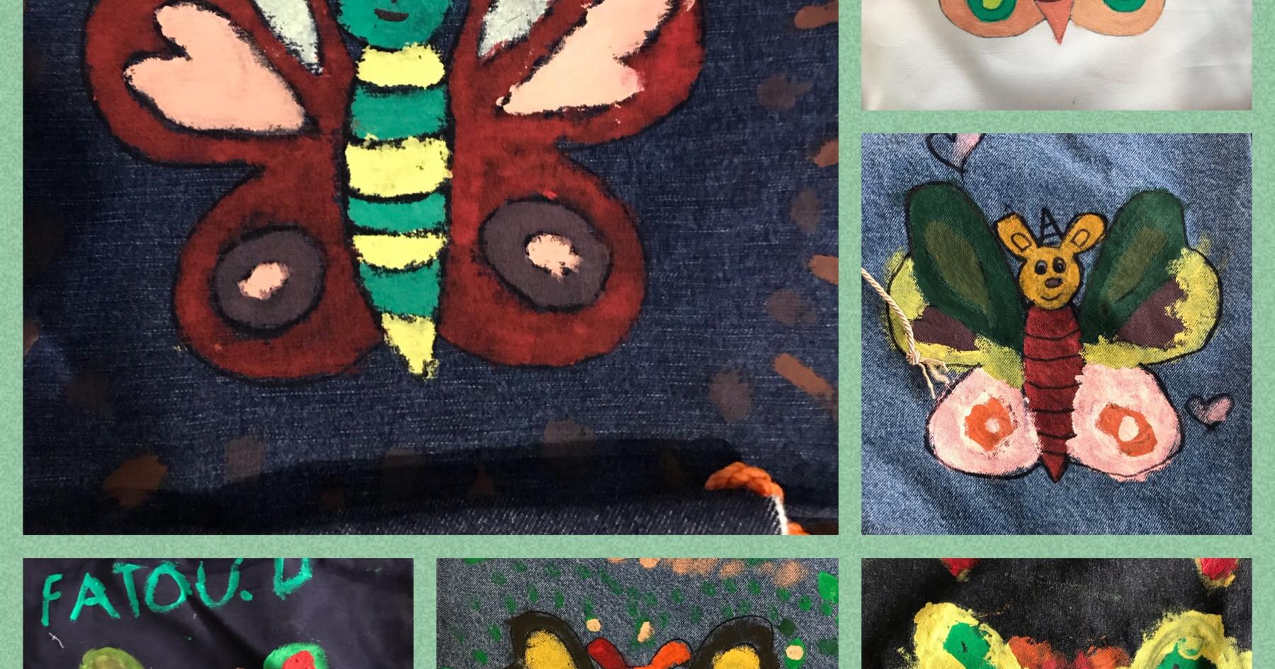 Peinture sac à soulier
