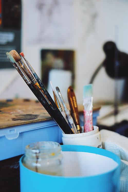 Peinture à l'huile (Adulte et enfant 7 ans et plus)