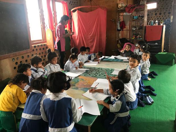 Ankuran Children in class room..jpg