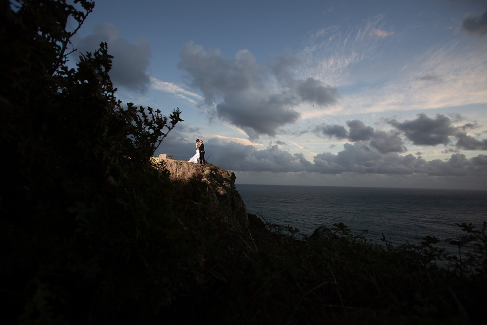 An original unedited image captured by Evoke Wedding Photography (Guernsey)