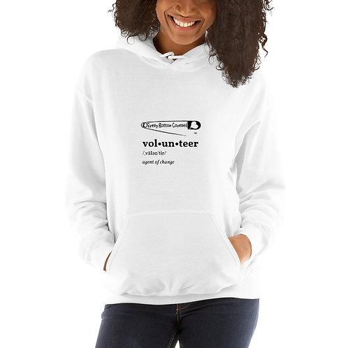 Volunteer Definition Hoodie
