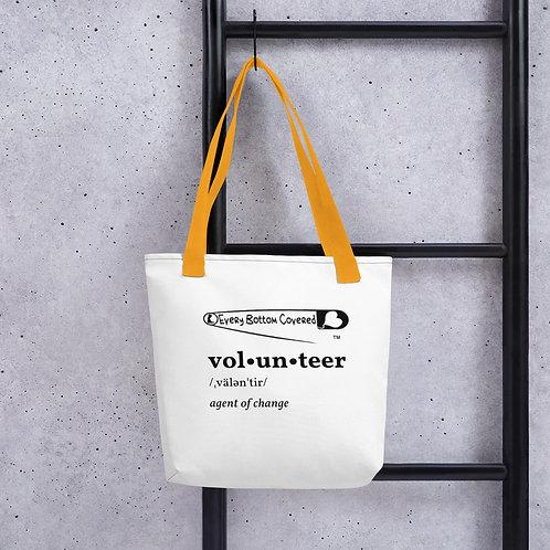 Volunteer Definition Tote