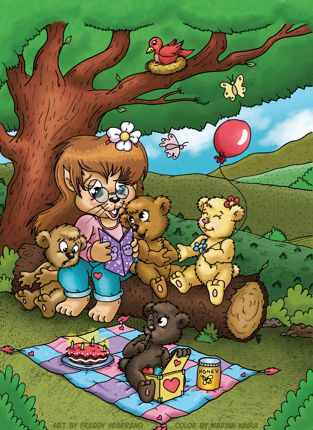 A Beary Happy Birthday Picnic!