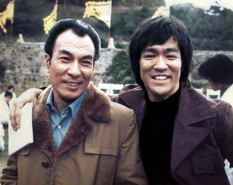 Fung Shek et Bruce Lee