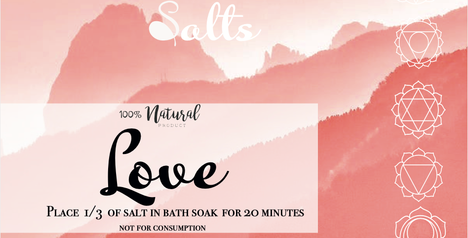 Love Bath Salts