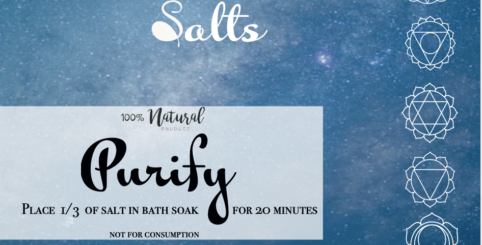 Purify  Bath Salts