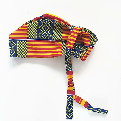 Kente Female Tie Back