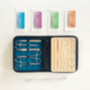 All inclusive suture pack