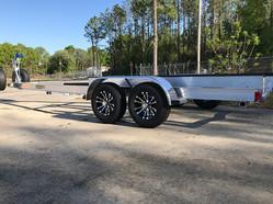 AlumaTrek Aluminum Tandem Axle Boat Trailer