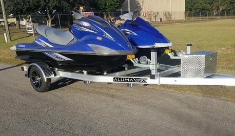 AlumaTrek Double Jet Ski Trailer
