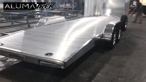 AlumaTrek Aluminum Custom Car Trailer
