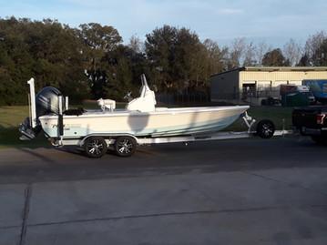 Aluminum Trailer - Pathfinder Bay Boat