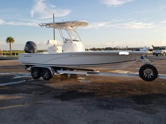 AlumaTrek Aluminum Boat Trailer - Sea Fox Bay Boat