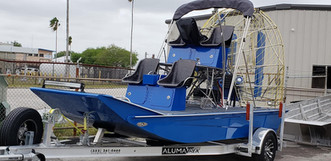 Aluminum Air Boat Trailer - For Panther Air Boats
