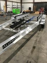 AlumaTrek Tri-Axle Boat Trailer - Aluminum Bunks