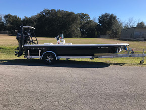 Aluminum Trailer - Flats Boat