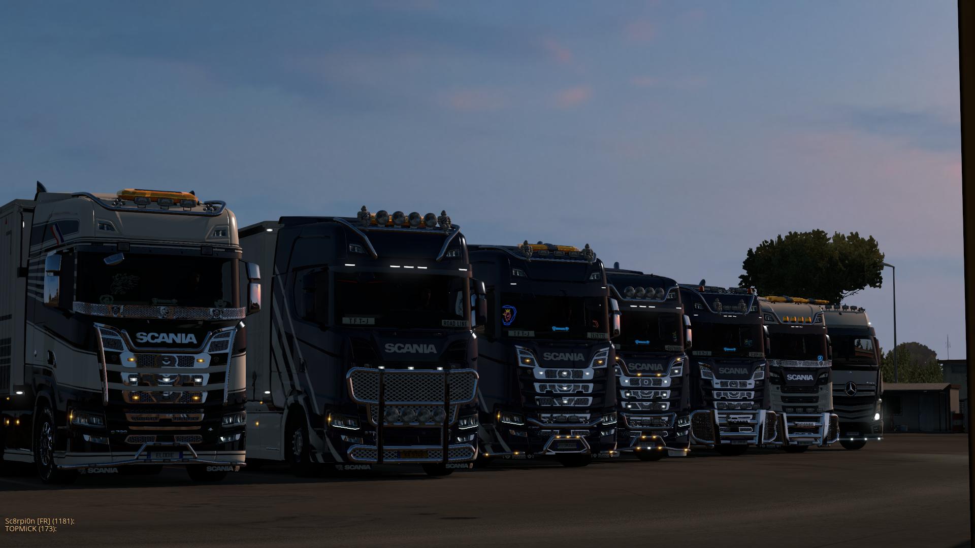 Convoi inter-entreprise avec la TFTJ